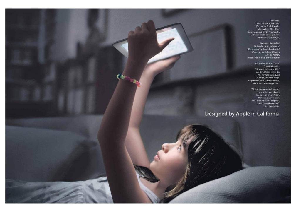 Apple Image Kampagne